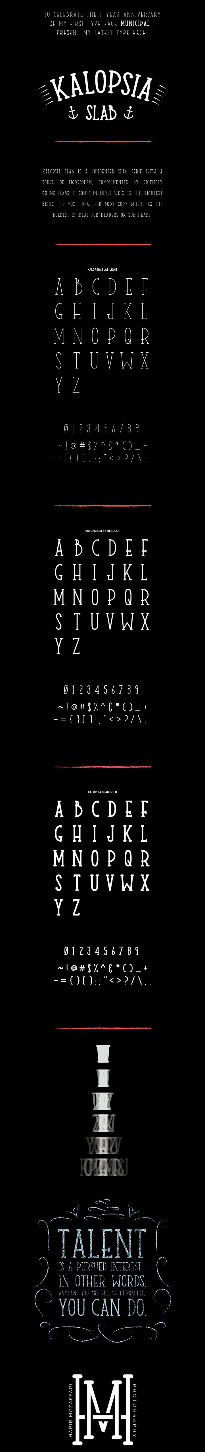 Kalopsia font
