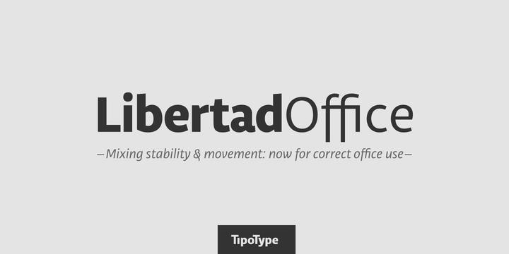 Libertad Office - Befonts com