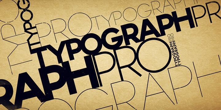 Typograph Pro - Befonts com