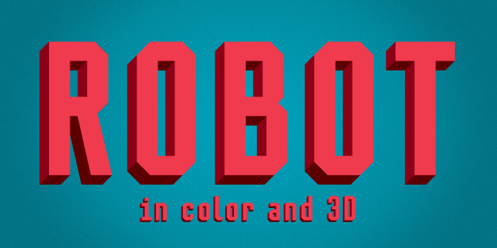 Retro Slab Serif Font
