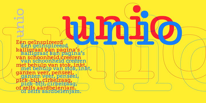 Unio - Befonts com