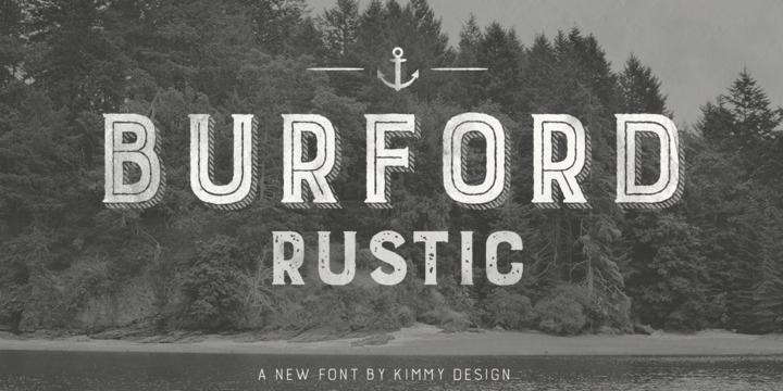 Burford Rustic Befonts Com