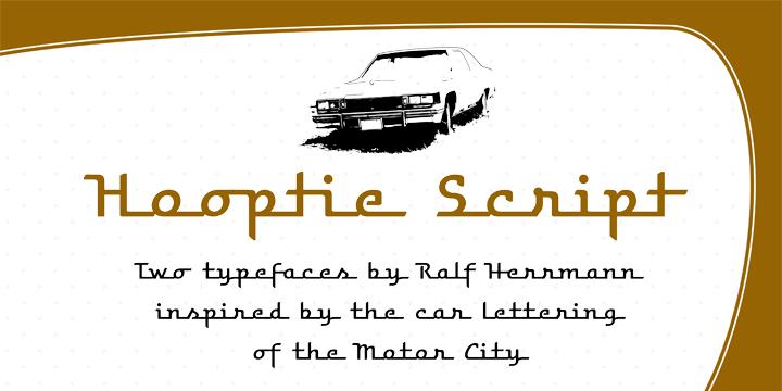 Hooptie Script - Befonts com
