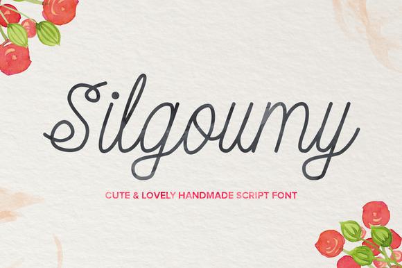 Silgoumy Font - Befonts com