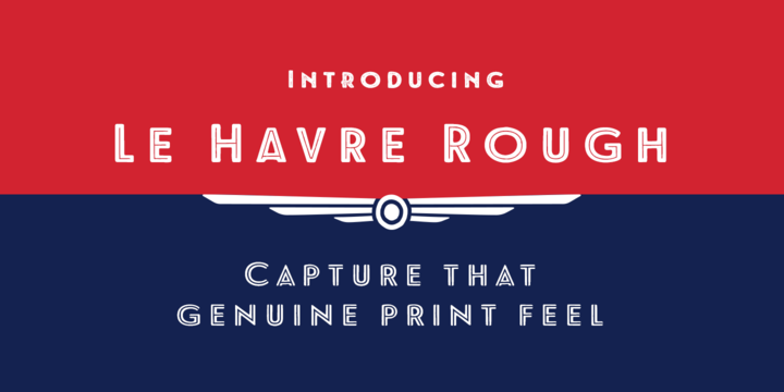 Le Havre Rough Befonts Com