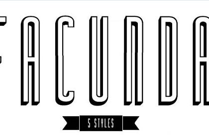 Facunda-italic font free fonts download.