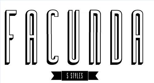 Facunda-regularshadow font free fonts download.