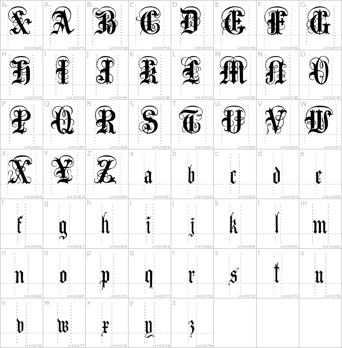 anglo-text.regular.character-map-1