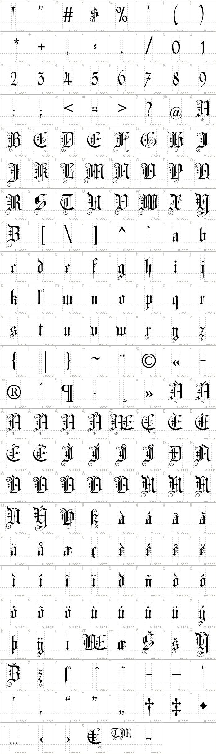 cat-altgotisch.regular.character-map-1