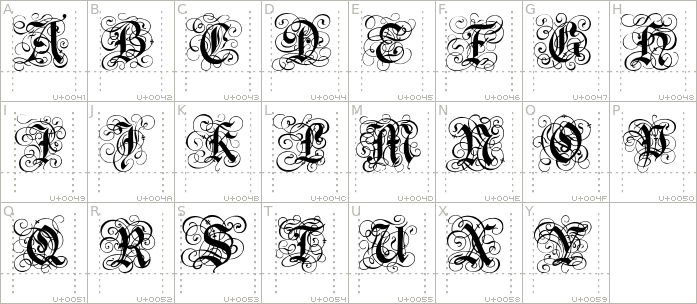 gothic-flourish.regular.character-map-1