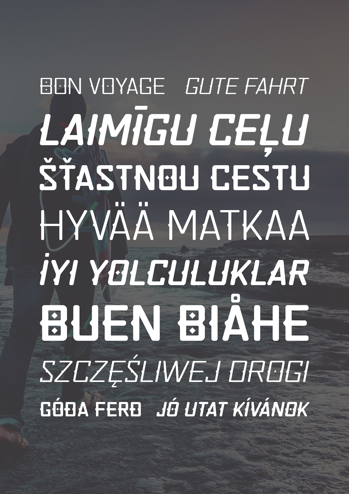 Quirko Font Family 8