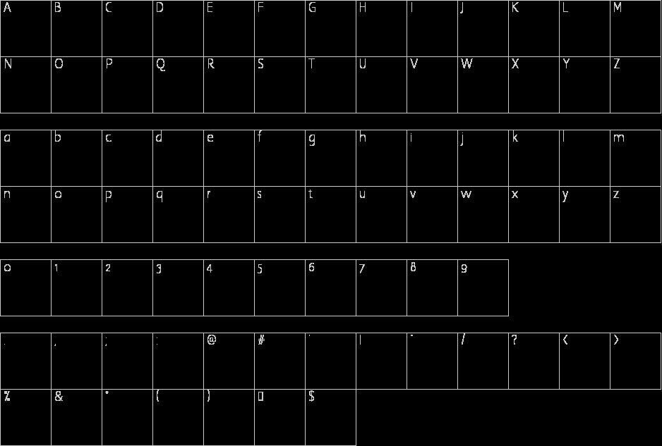 Tutbury Font