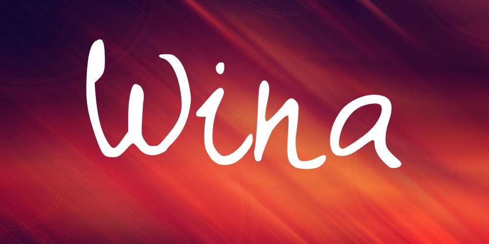 Wina Font Befontscom
