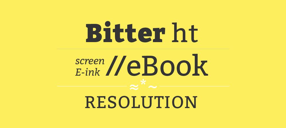 Bitter font family free fonts.