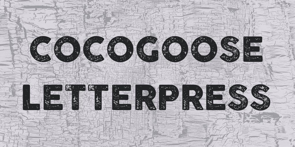 Cocogoose Font Download