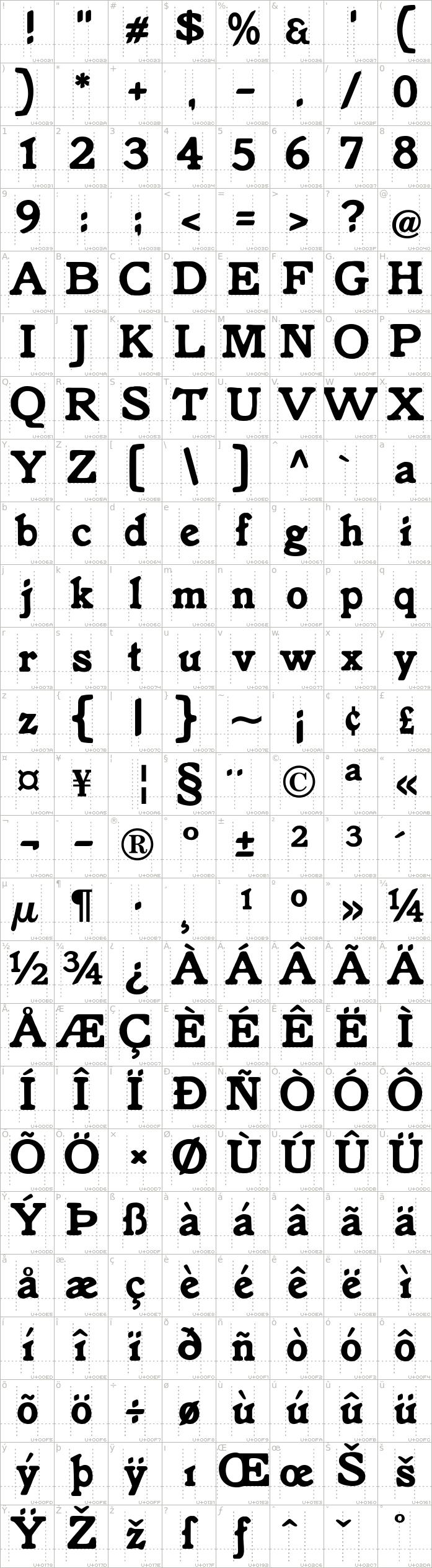 knorke.regular.character-map-1