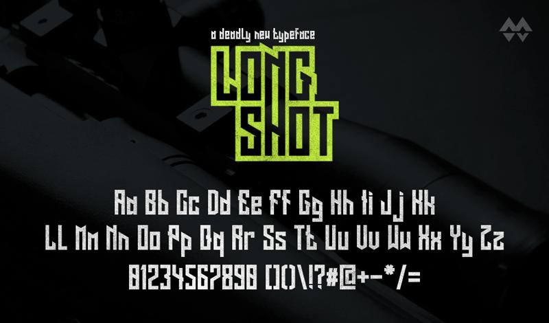 Long Shot Font Download