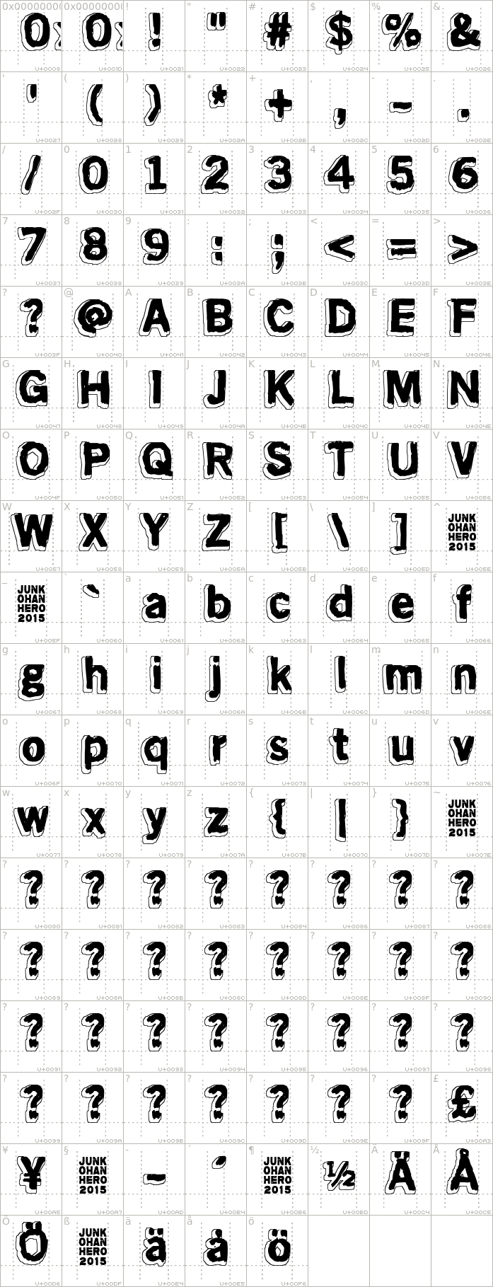 mondo-bongo.regular.character-map-1