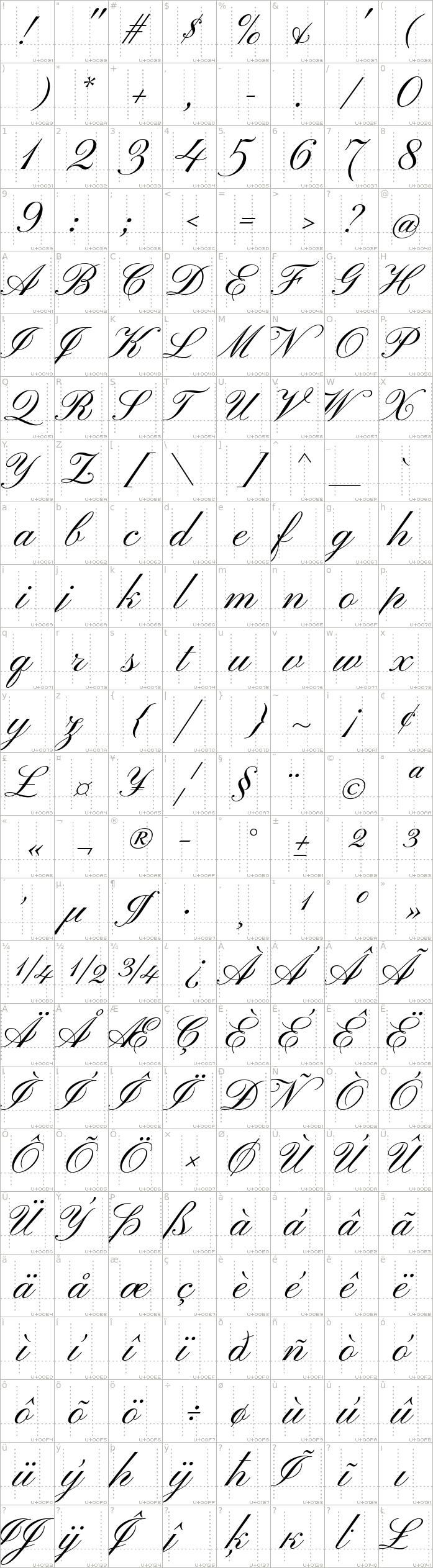 pinyon-script.regular.character-map-1