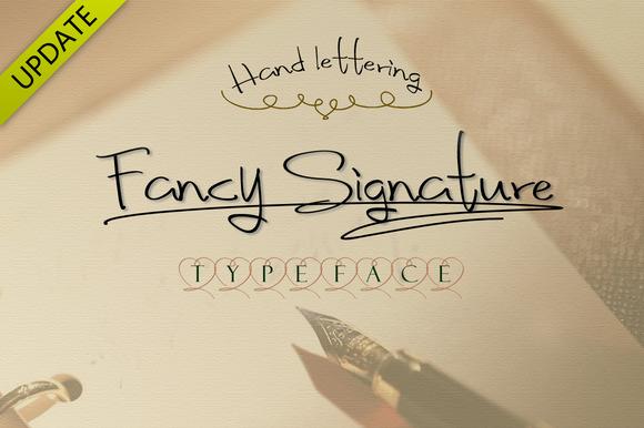 Fancy signature font style befonts