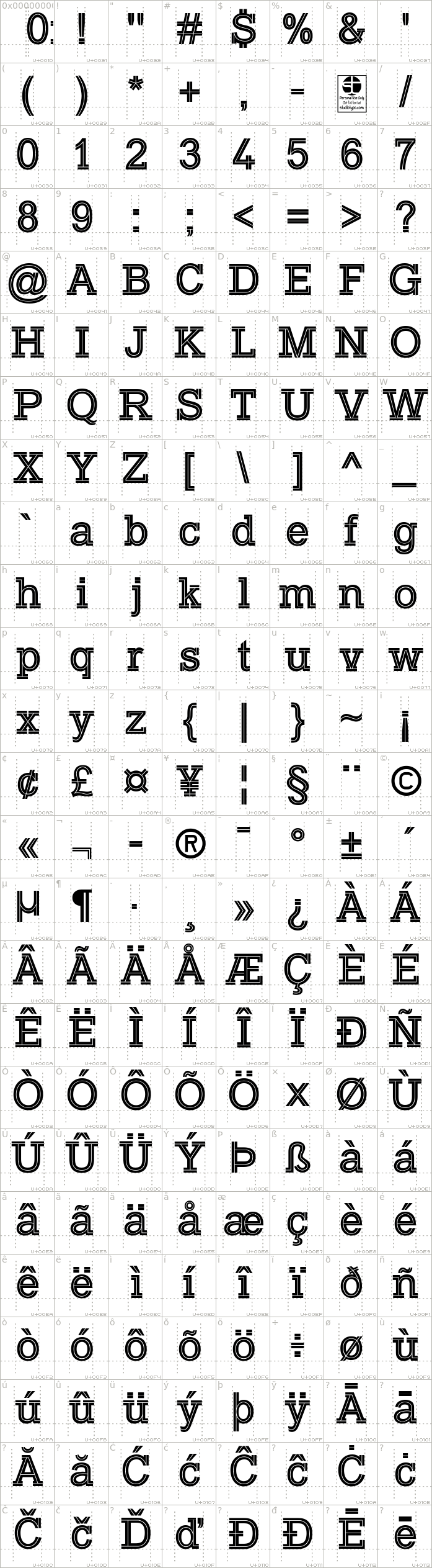 typo-slab-inline-demo.regular.character-map-1