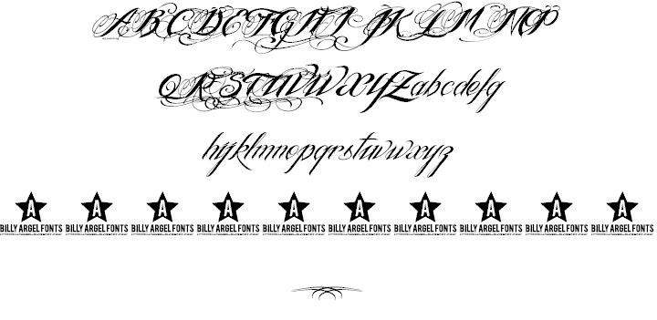 Tattoo Font Generator Billy Argel Tattoo Art