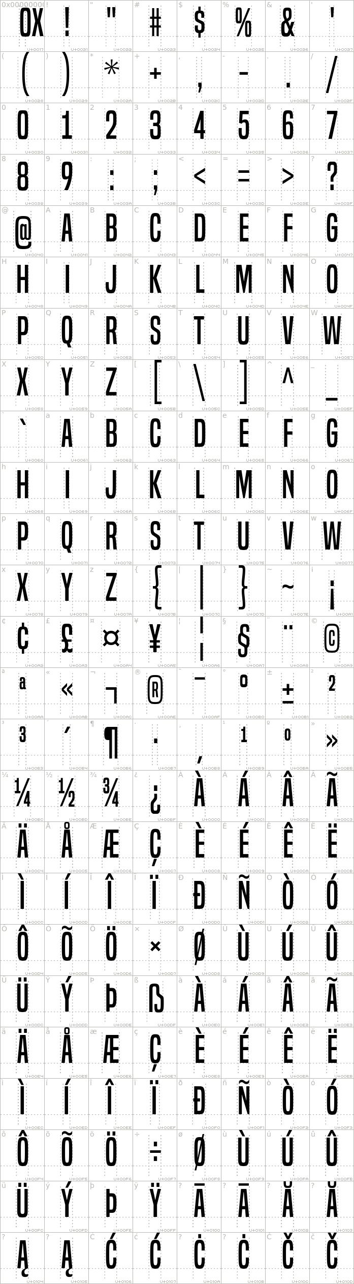 built-titling.regular.character-map-1