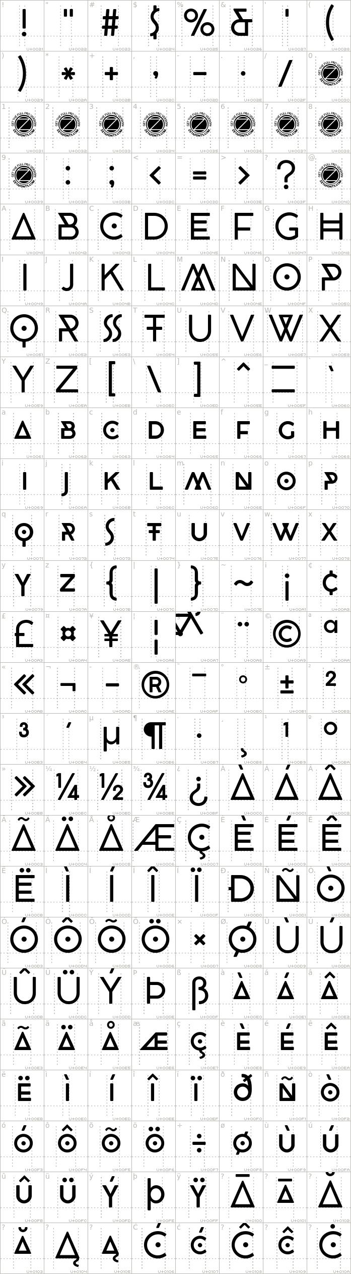 cocobiker.regular.character-map-1