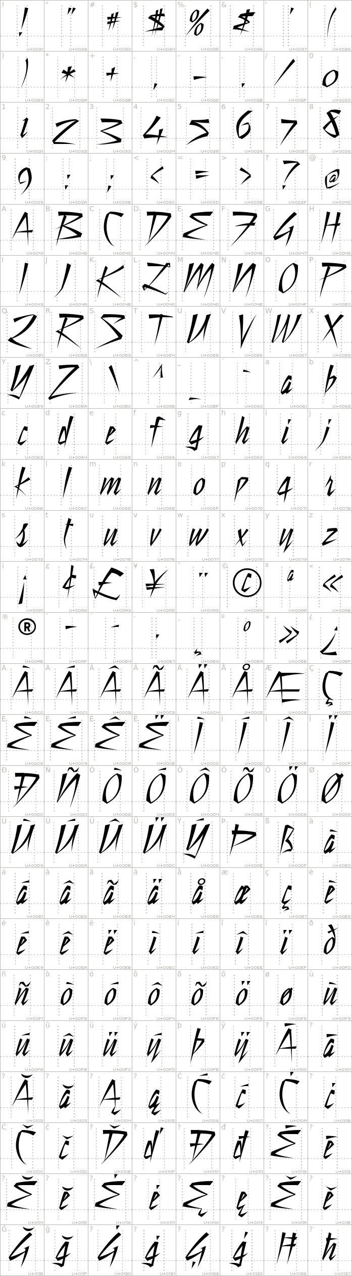still-time.regular.character-map-1