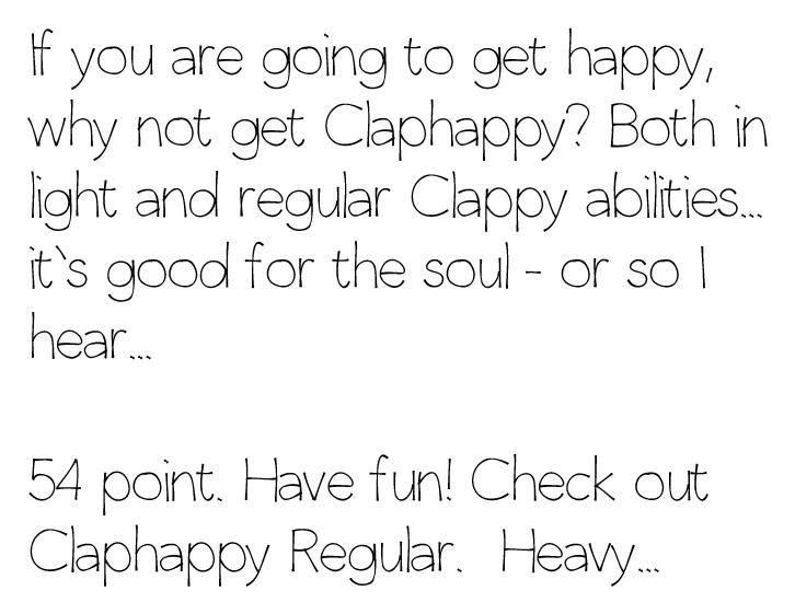 claphappylight
