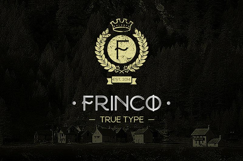 frinco font