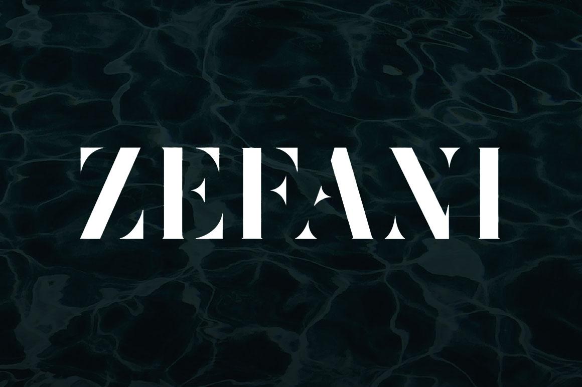 Zefani Font - Befonts.com