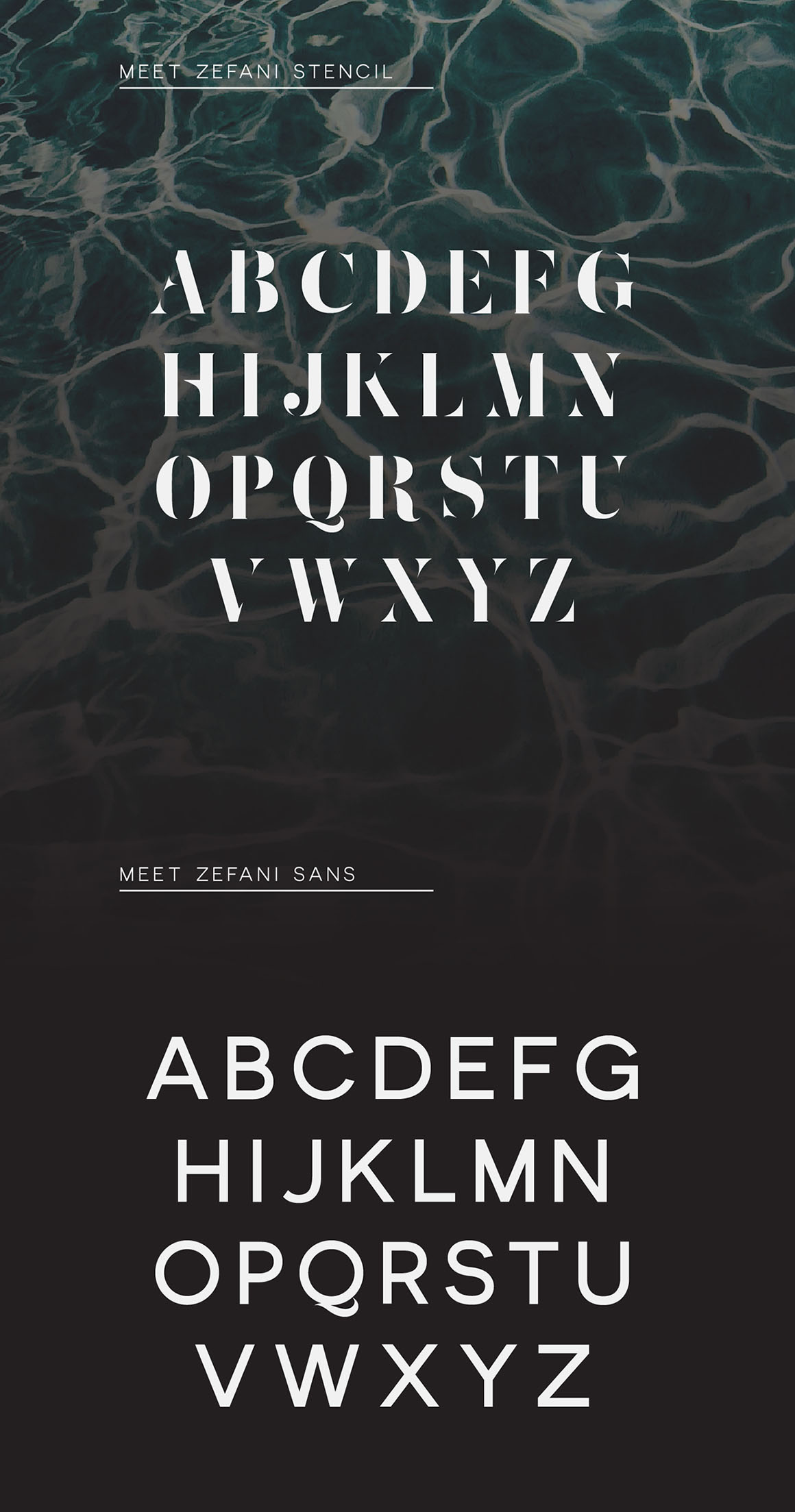 html how to use multiple custom fonts