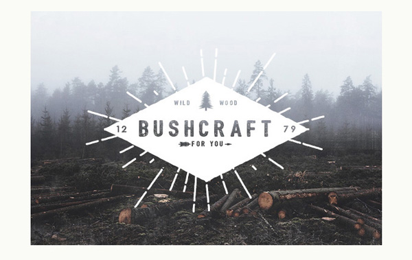 2.Free-Font-Of-The-Day-Bushcraft