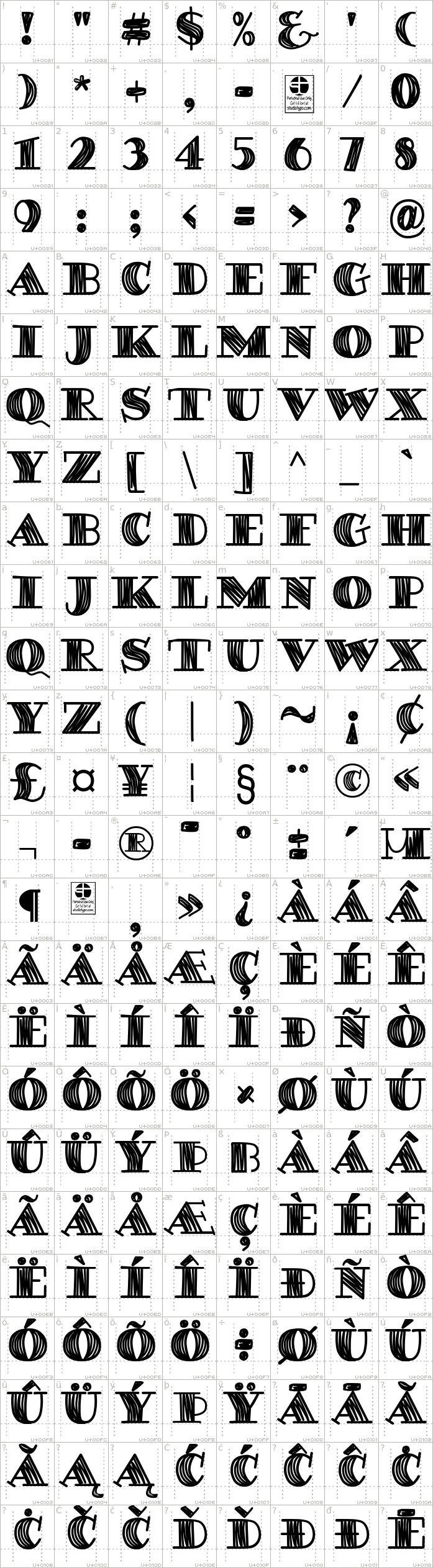 degaws-demo.regular.character-map-1