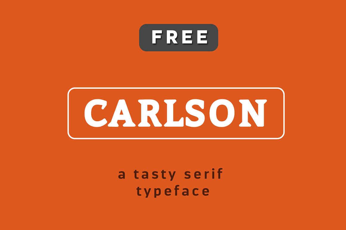 Carlson Font - Befonts com