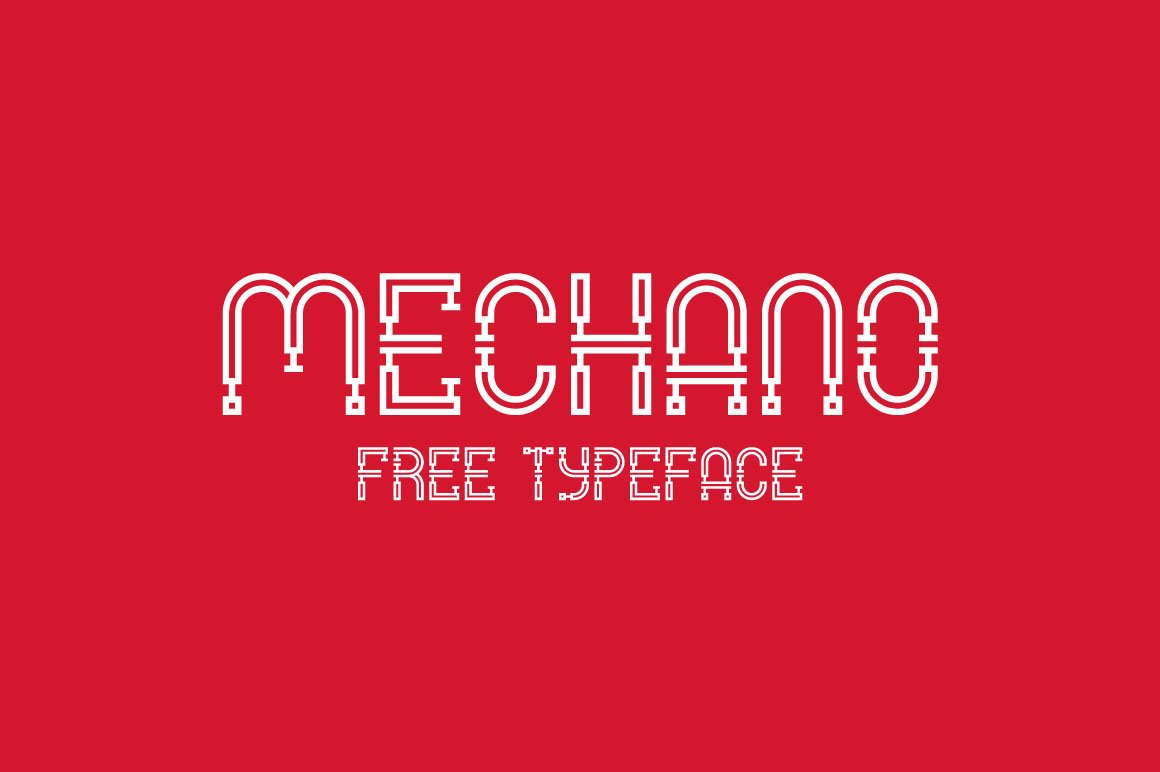 Mechano Font - Befonts.com