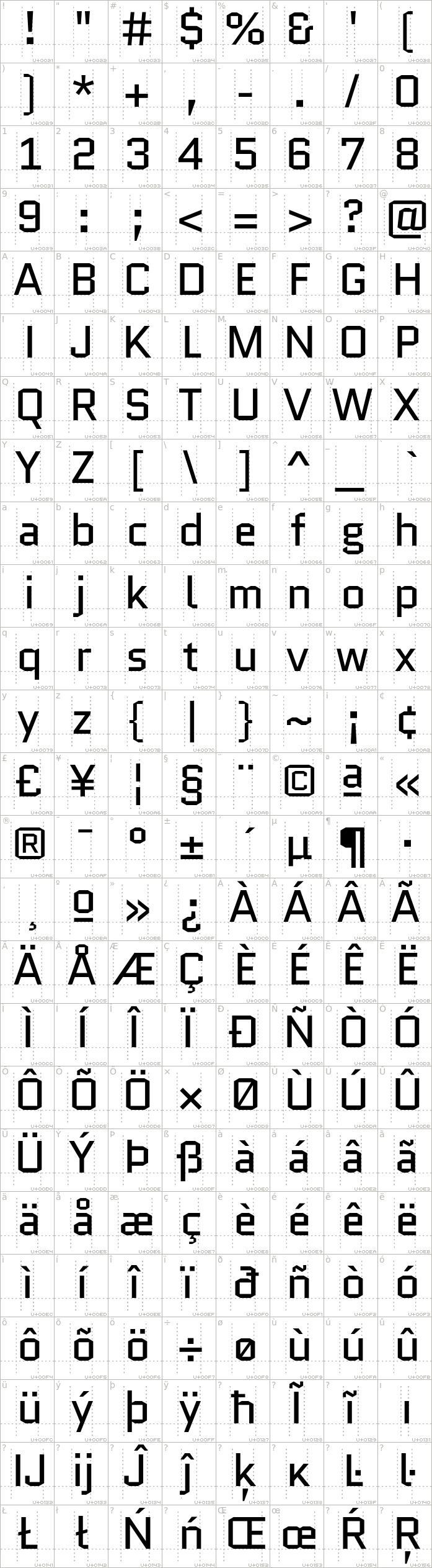 quantico.regular.character-map-1