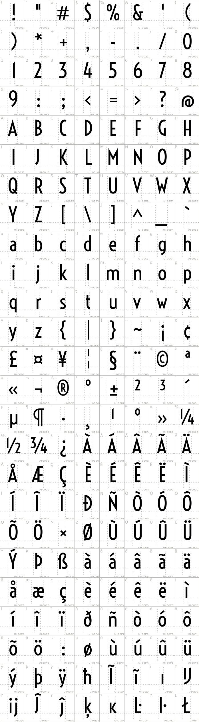 voltaire.regular.character-map-1