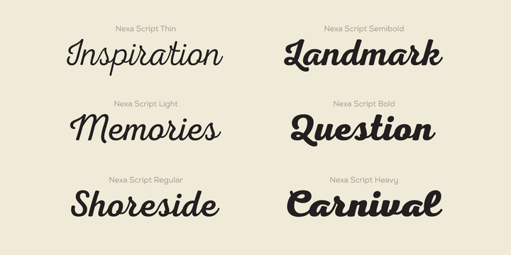 brown font family free download