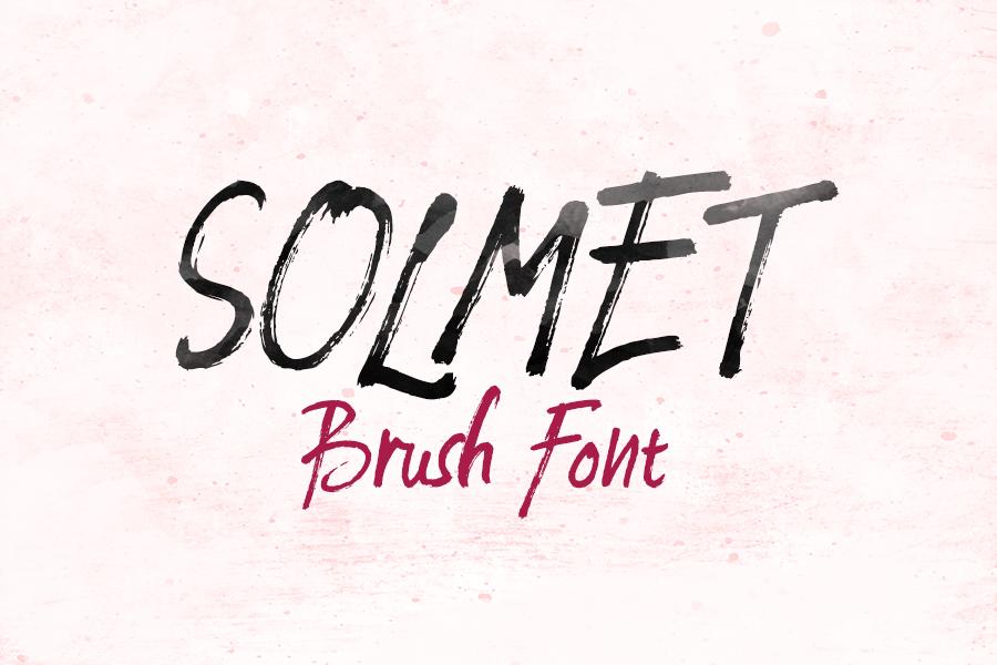 solmet marker font