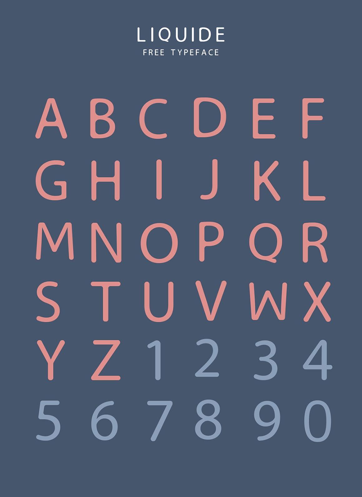 Download Liquide Typeface - Befonts.com