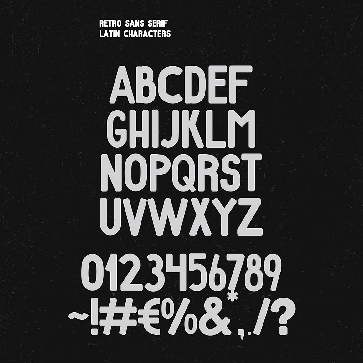 Retro Sans & Serif Font - Befonts com