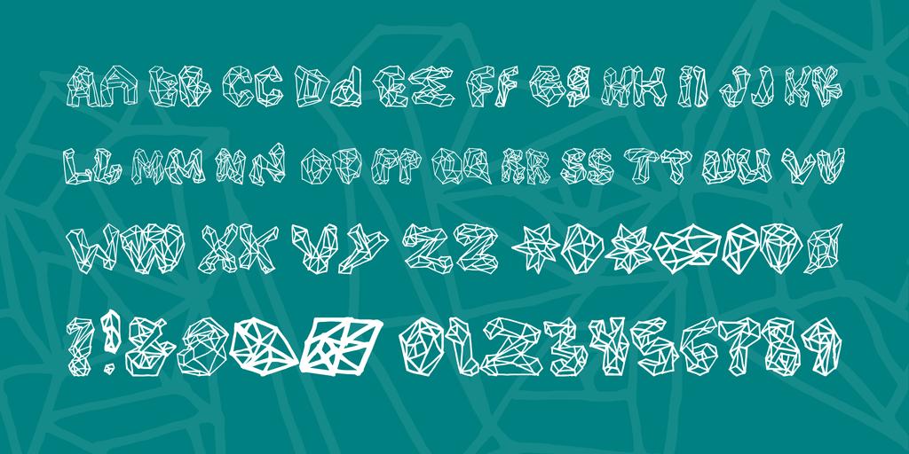 polygons-font-3-big