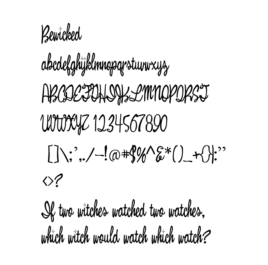 02_bewicked-free-font