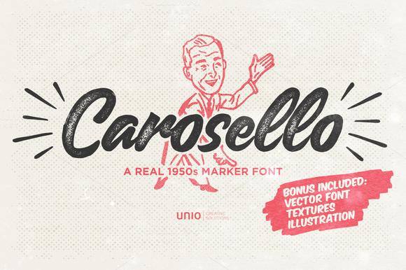 Carosello Font Download