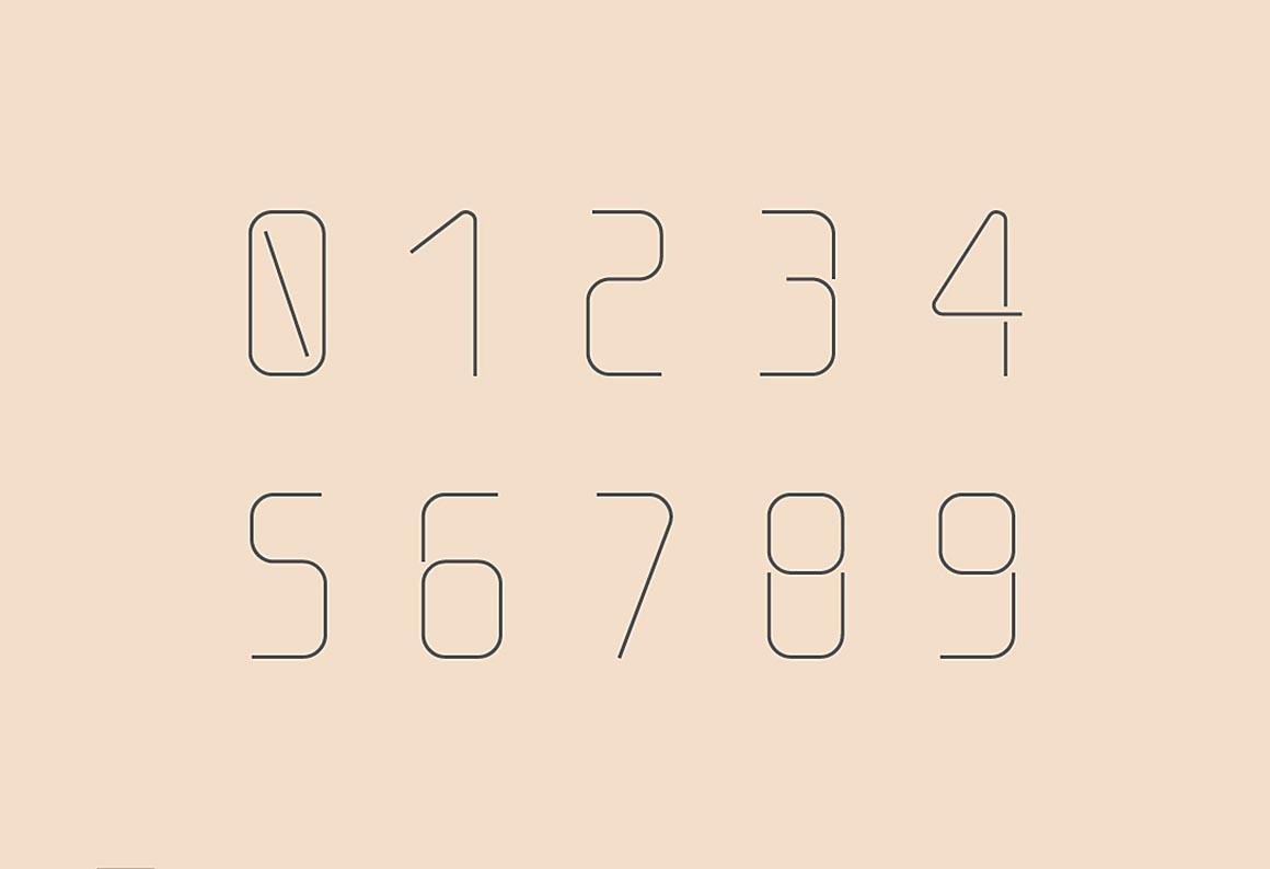 Download Thin Line Font - Befonts.com