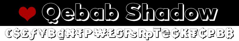 quebab-shadow-font-df
