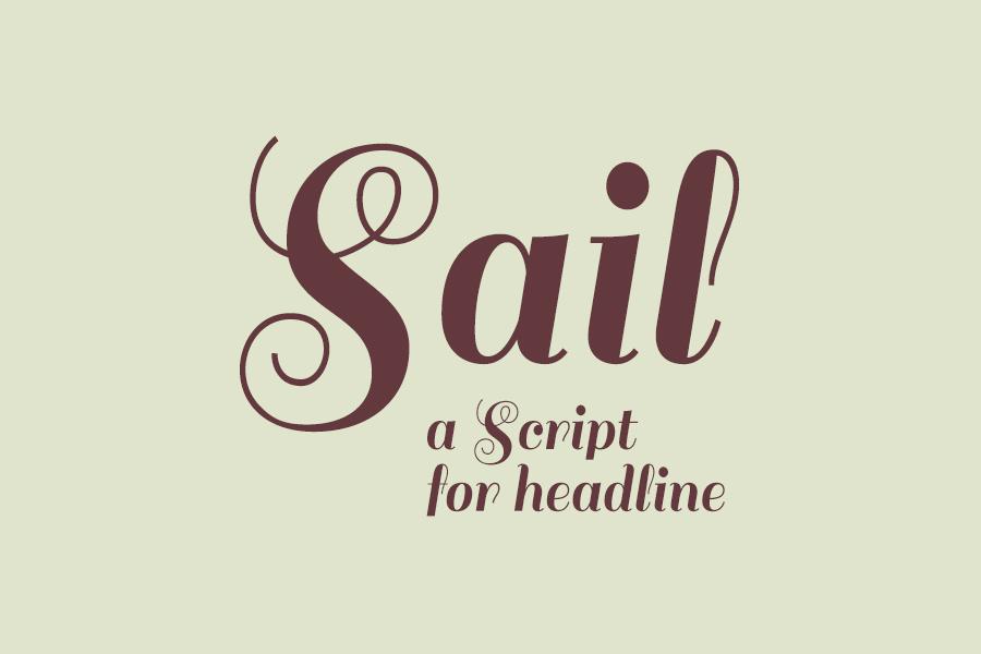 Sail Font - Befonts com