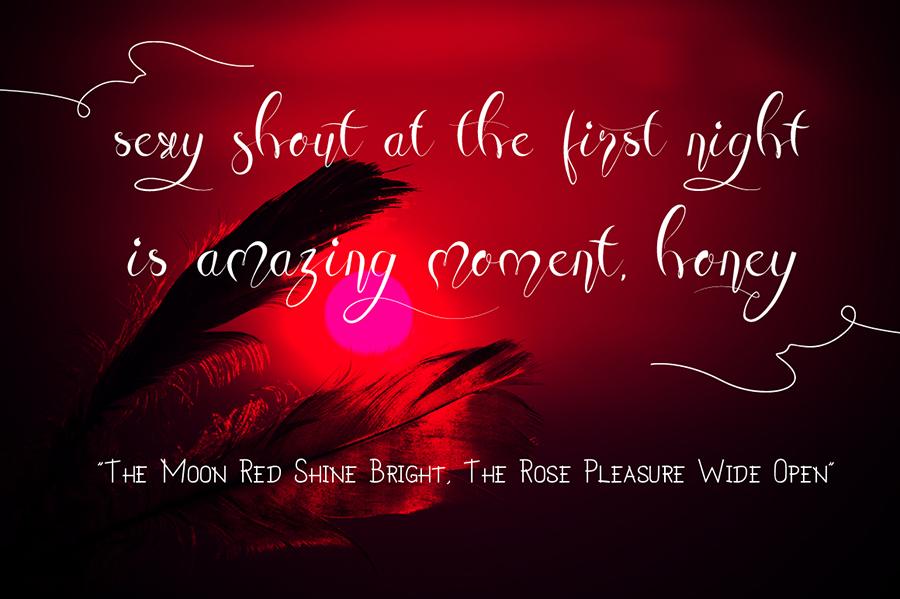 07_Honey-Moon-Midnight-free-font